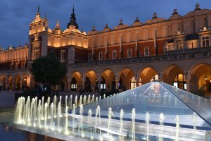 Cracovie main market square