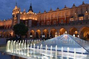 Cracovie main market square