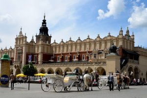 Main Market Square Cracovie