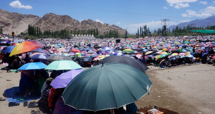 Kalachakra, Leh du 3 au 14 juillet 2014
