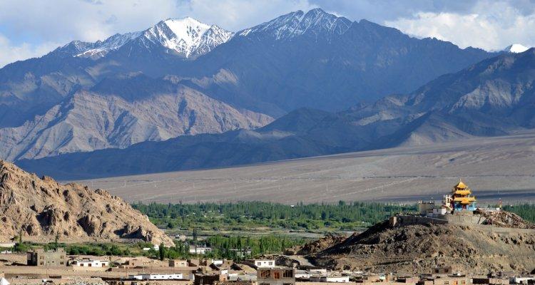 Premiers pas au Ladakh à Choglamsar