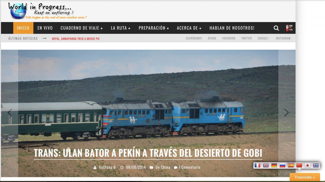 WorldinProgress.fr in spanish