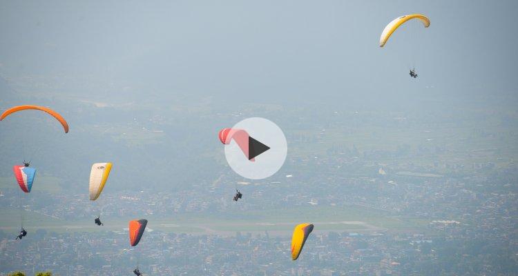 Vol en parapente à Pokhara