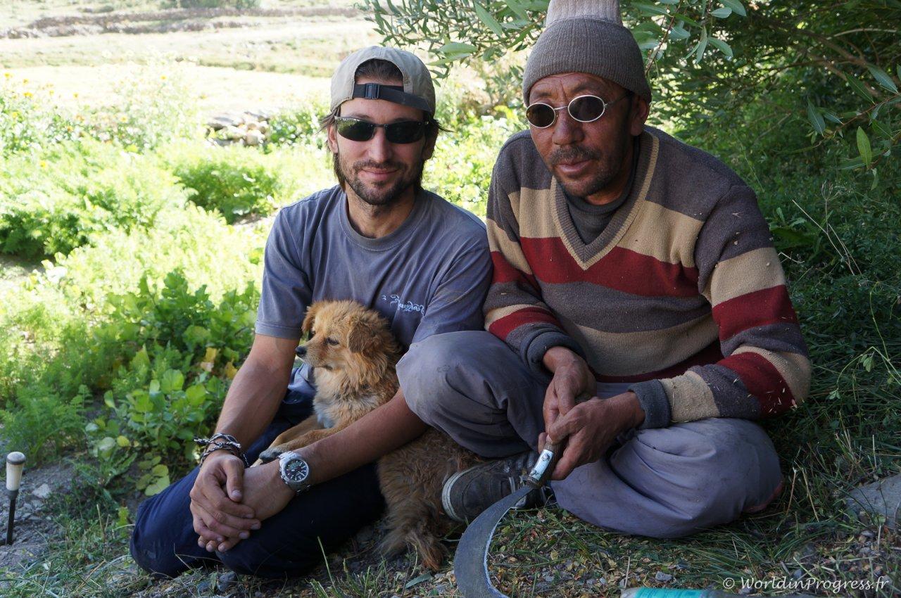 Un touriste au Zanskar