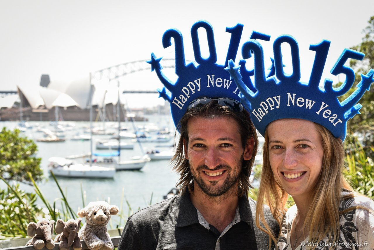 Nouvel an Sydney 2015