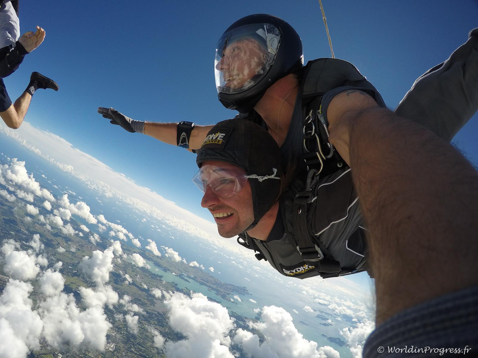 saut en parachute hong kong