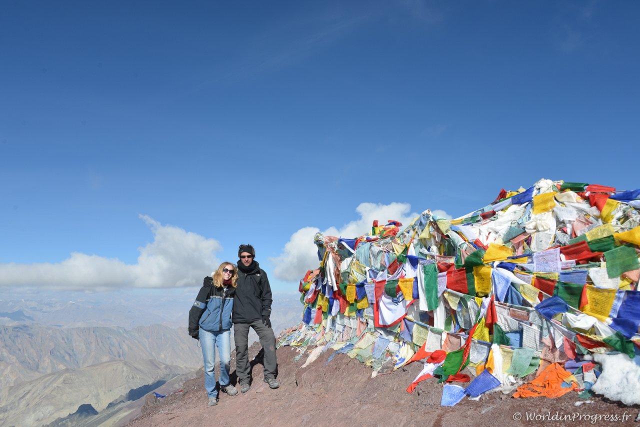 Au sommet du Stok Kangri