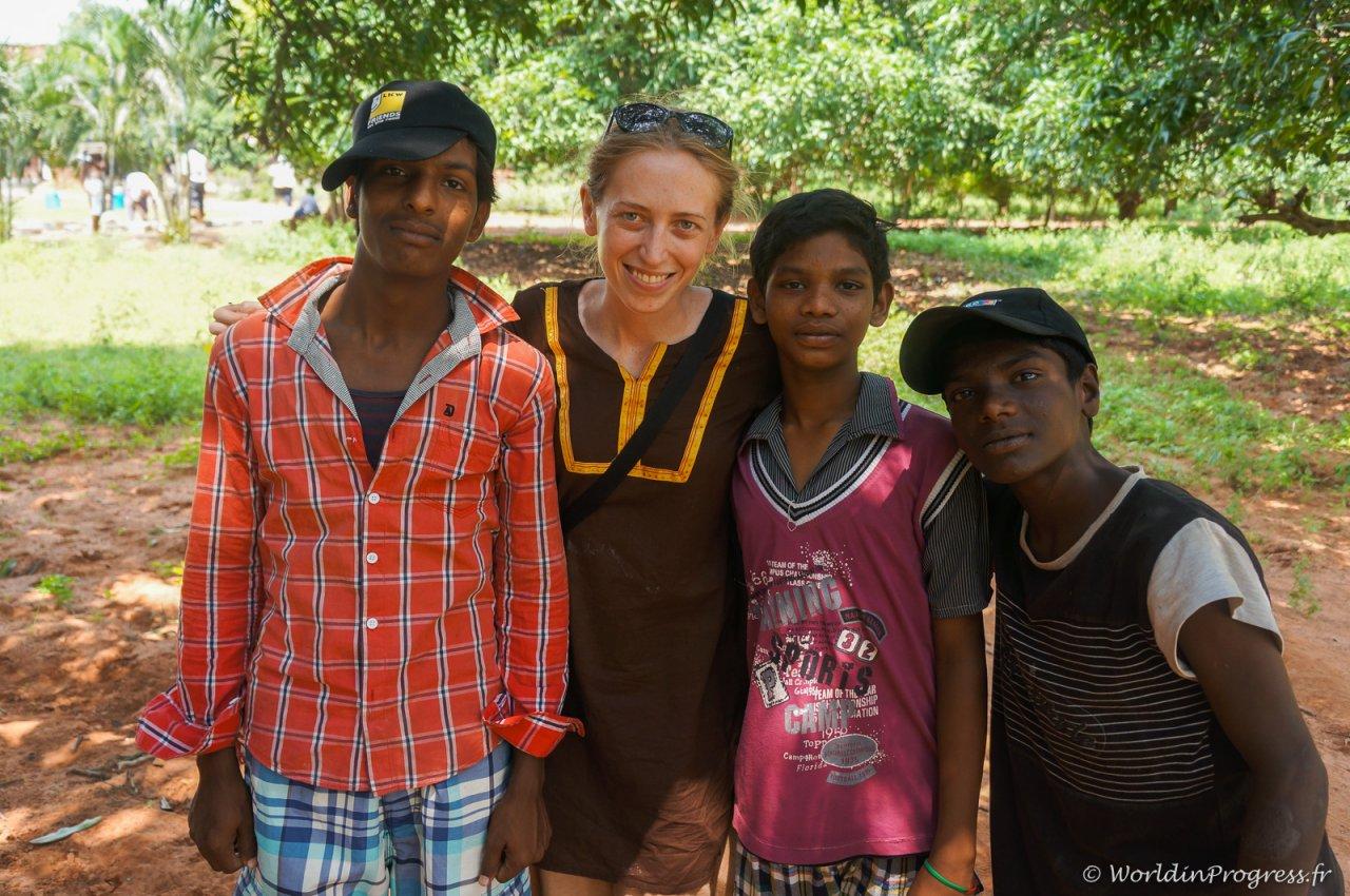 Rencontre en Inde