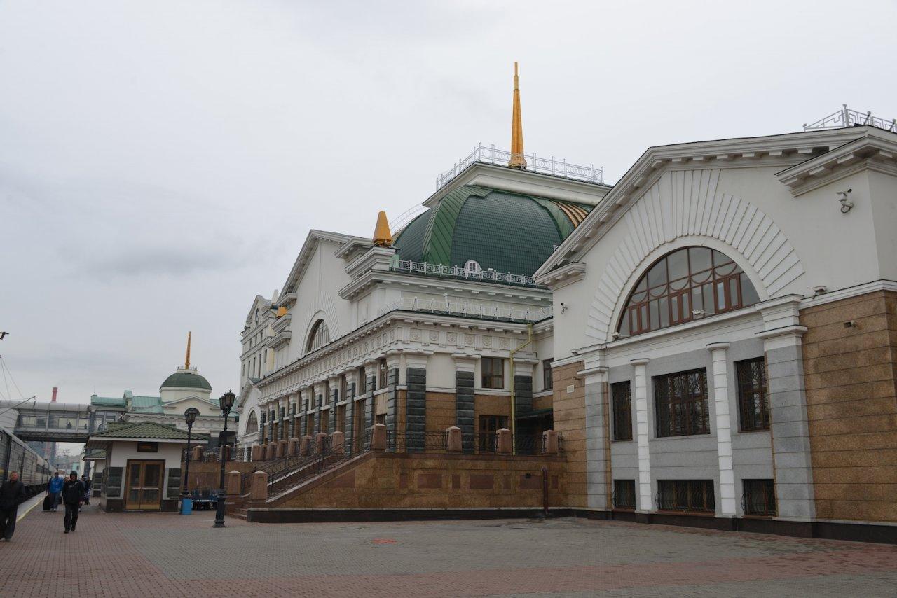 Gare de Krasnoyarsk
