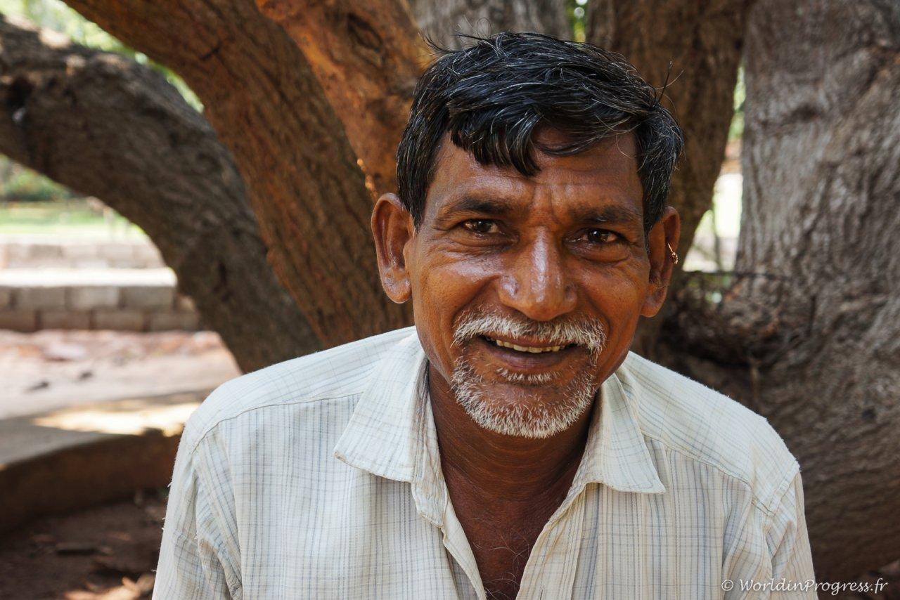 Un fermier du centre
