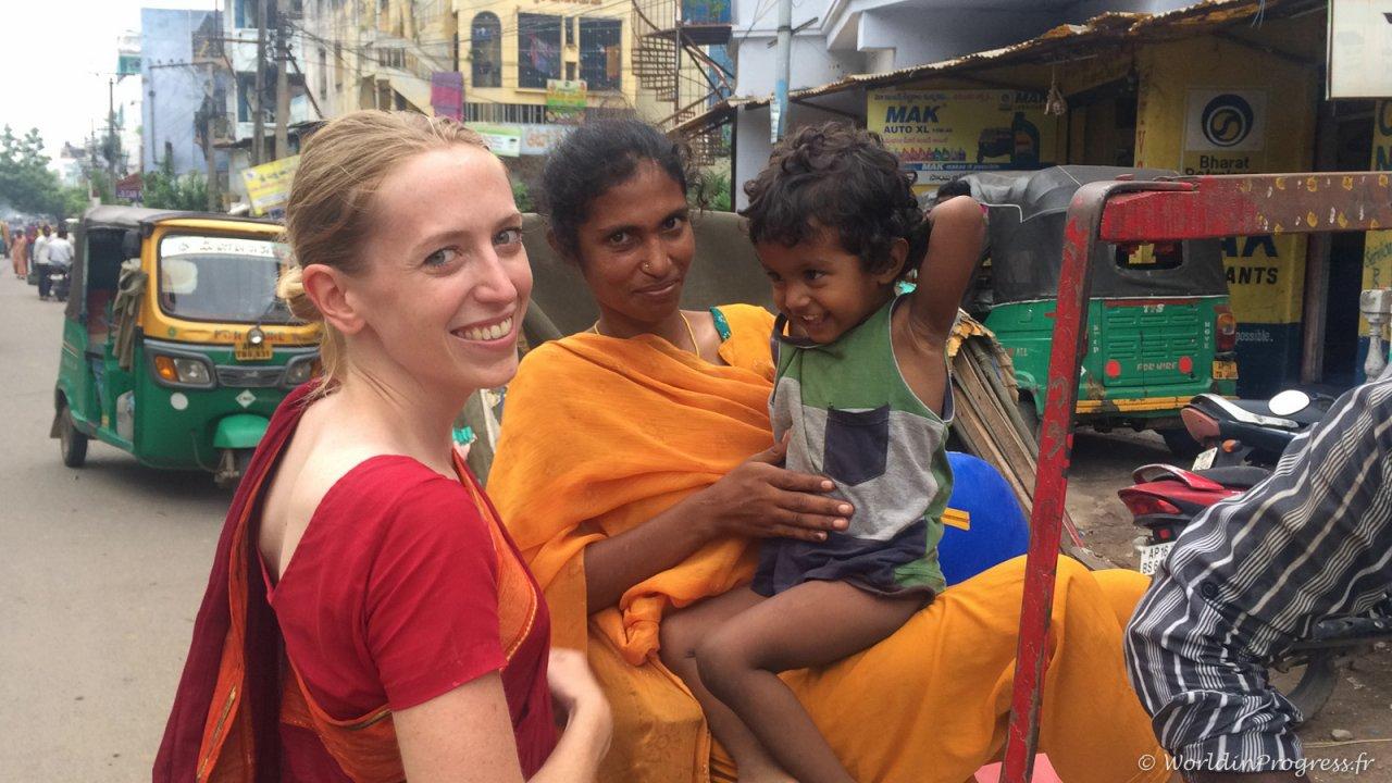 Rencontre en Inde du sud