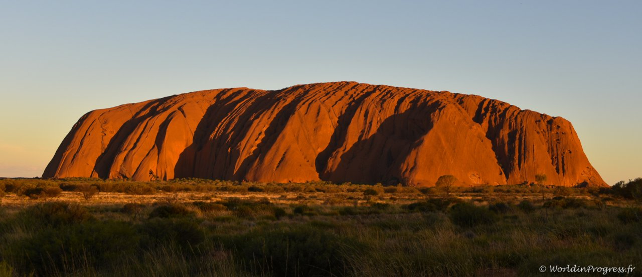 Uluru, en Australie
