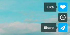 like et partage